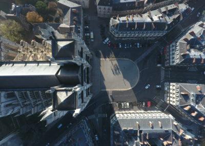 prise de vue aérienne par drone